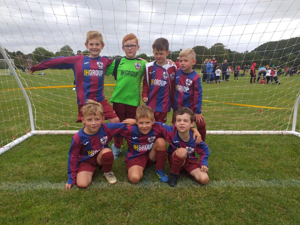 Ashton Boys U7 Football Team Photo